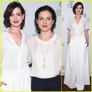 Anne Hathaway Hits Palm Springs to Debut 'Song One'