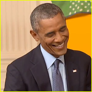 President Obama Laughs at GloZell's D-ck Joke - Watch Now!