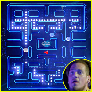 Bud Light Super Bowl Commercial 2015: Real Life Pac-Man!