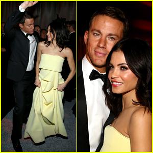 Channing Tatum & Jenna Dewan Dance Night Away at Golden Globes After Party 2015