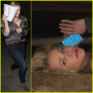 Chelsea Handler Lies in a Ditch For Super Bowl Commercial Teaser