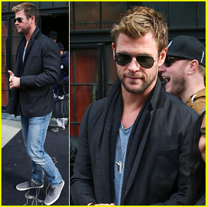 Chris Hemsworth Explains Why Liam's Toenails Were Painted with Nail Polish!