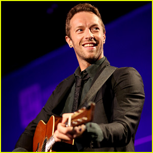 Chris Martin Attends Help Haiti Gala Sans Jennifer Lawrence