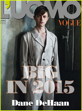 Dane DeHaan Wears Vintage Fashion on 'L'Uomo Vogue' Cover