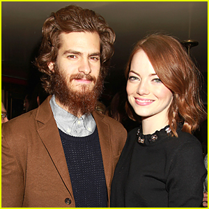Emma Stone Brings Boyfriend Andrew Garfield to 'Birdman' Dinner