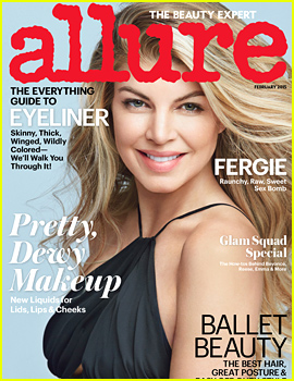 Fergie Covers 'Allure,' Says Josh Duhamel Gets 'Curious' About Her Bikini Waxes!