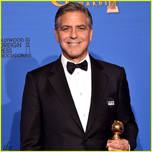 George Clooney Wore His Wedding Tux to Golden Globes 2015!
