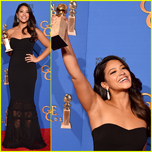 Gina Rodriguez Continues to Inspire with Golden Globes 2015 Press Room Interview (Video)