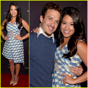 Jane the Virgin's Gina Rodriguez Parties with Her Boyfriend Ahead of the Golden Globes!