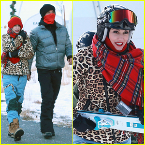 Gwen Stefani & Gavin Rossdale Continue Their Slope Love Fest in Mammoth!