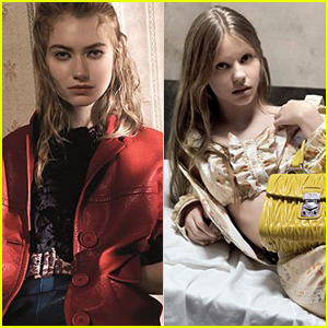 Actresses Imogen Poots & Mia Goth Star in Miu Miu's Spring Campaign!