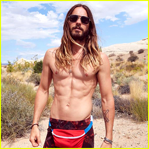 Jared Leto Can Go Shirtless with His Fanny Pack Any Day