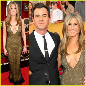 Jennifer Aniston Gets 'I'm an Actor' Speech at SAG Awards 2015