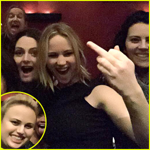 Jennifer Lawrence & Rebel Wilson Celebrate Lauren Ash's Birthday Together