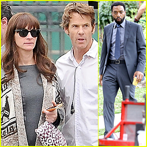 Julia Roberts & Danny Moder Mix Business With Pleasure On 'Secret in Their Eyes'