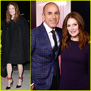 Julianne Moore Reacts To Her Oscar Nomination: 'I Can Barely Breathe'!