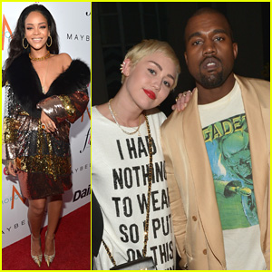 Rihanna & Kanye West Step Out for the Daily Front Row Awards