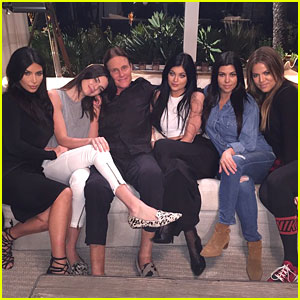 Kardashian & Jenner Sisters Have Daddy Time with Bruce Jenner!