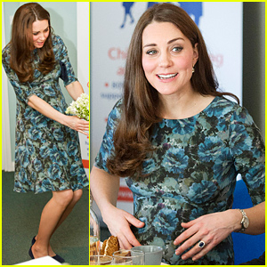 Kate Middleton Says She Can Feel Her Unborn Baby Kicking In Her Stomach!