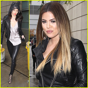 Khloe Kardashian & Kendall Jenner Have 'Sister Time' at Clippers Game