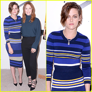 Kristen Stewart & Golden Globes Winner Julianne Moore Discuss 'Still Alice' at AOL Studios