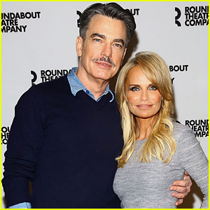 Kristin Chenoweth Steps Out for 'On The Twentieth Century' Photo Call with Peter Gallagher