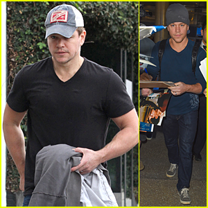 Matt Damon Encourages Everyone to 'Buy a Lady a Drink' - Watch Now!