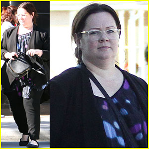 Melissa McCarthy Spends Time with Her Family to Kick Off 2015