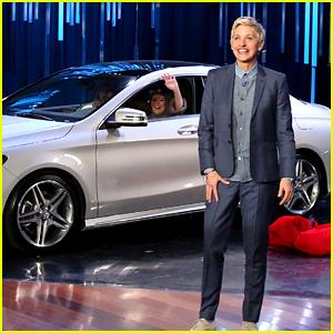 Mercedes-Benz Super Bowl Commercial 2015 Debuts on 'Ellen'