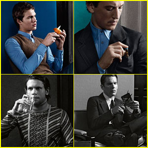 Ansel Elgort & Miles Teller Make Us Swoon in the New Prada Campaign