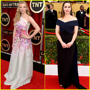 Natalie Dormer & Emilia Clarke Step Up Their Style Games for SAG Awards 2015