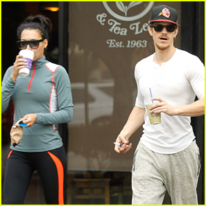 Naya Rivera & Ryan Dorsey Run Early Morning Errands Ahead of 'Glee' Premiere