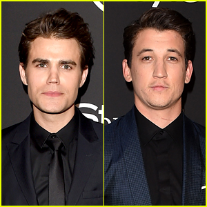 Paul Wesley & Miles Teller Suit Up for InStyle's Golden Globes Party 2015
