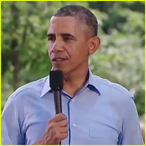 President Obama Sings 'Uptown Funk' In Viral Mashup Video - Watch Now!