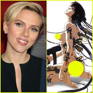 Scarlett Johansson Will Star in 'Ghost in the Shell' Movie!