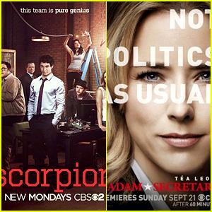 'Scorpion' & 'Madam Secretary' Renewed for Second Seasons!