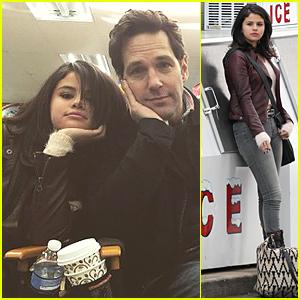 Selena Gomez Starts Shooting 'Revised Fundamentals of Caregiving' in Atlanta