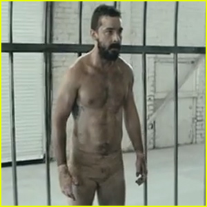 Shia LaBeouf Is Nearly Naked, Dances in His Underwear for Sia's 'Elastic Heart' Video - Watch Now!