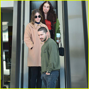 Shia LaBeouf Spends Time with His Two Favorite Ladies