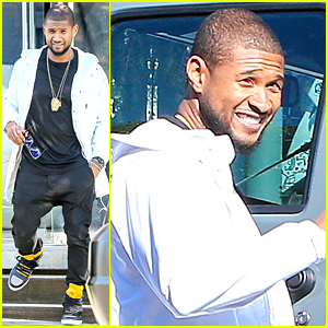 Usher Suffers Red & Bloody Eye Injury at New Year's Eve Party