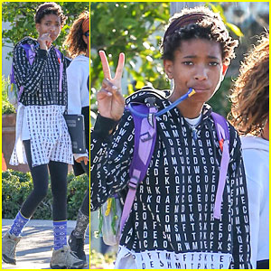 Willow Smith Helps a Fan Convince Her Parents That Public School Rot Her Brain