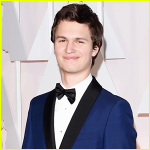 Ansel Elgort is a Tall Glass of Handsome at Oscars 2015