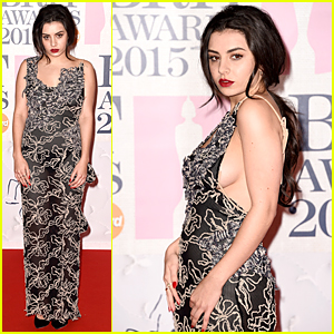 Charli XCX Flashes Some Side Boob at BRIT Awards 2015