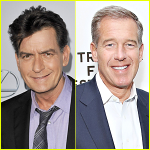 Charlie Sheen Praises Brian Williams Amid Controversy, Rips NBC