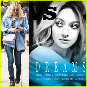 Dakota Fanning Covers 'Vs. Magazine' With Other Female Stars