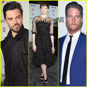 Dominic Cooper Joins Jake McDorman & Girlfriend Analeigh Tipton at the 'Vanity Fair' Young Hollywood Party!
