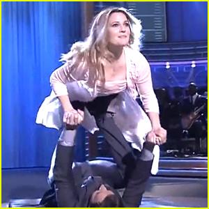 Drew Barrymore & Jimmy Fallon Lip Sync & Do 'Dirty Dancing'!