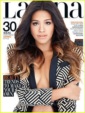 Gina Rodriguez Puts Emphasis on Education For Latina's March 2015 Issue
