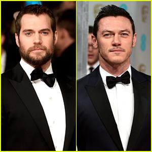Henry Cavill & Luke Evans Make the BAFTAs So Much Hotter