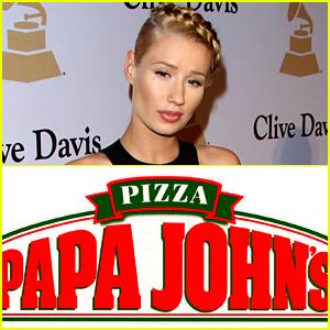 Iggy Azalea Gets an Apology from Papa John's Pizza